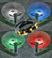 Vessel bowl ring Lite,LED, for Frosted,Transparent & Opaque Sinks: Sapphire Blue