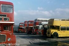 Trent Vehicles in Derby Depot Yard 1977 Bus Photo