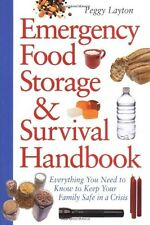 Emergency Food Storage and Survival Handbook by Peggy Laython (Paperback) NEW