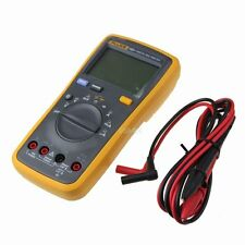 FLUKE 15B+ AC DC Ohm Auto range Digital Multimeter Meter Tester DMM with TL75