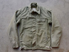 Vintage USN US Navy A-2 Cold Weather Deck Jacket A2 Flight Thrashed Destroyed