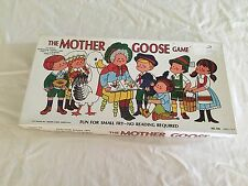1971 Cadaco Mother Goose Board Game Complete