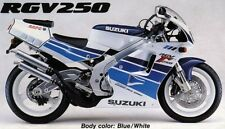 SUZUKI RGV250M VJ22 MODEL BLUE/WHITE VERSION ONLY FULL PAINTWORK DECAL KIT