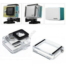 LCD Screen Backup Battery Waterproof Backdoor Housing Case for Xiaomi Yi Camera