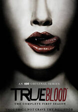 True Blood - The Complete First Season 1 (DVD, 2015, 5-Disc Set) new sealed box
