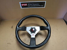 JDM Personal Steering Wheel, Mazda RX-7 RX7 FC3S S4 S5 Hub, Red Stitches, 13B
