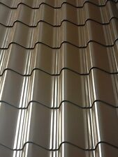 Roofing sheets, Roof cladding. Tile Effect Roofing panels, 0.5mm  (UK Made)