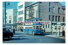 gw0565 - South Shields Trolleybus no 226 in 1959 - photograph