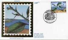 FDC / PREMIER JOUR / MONACO / LES QUATRE SAISONS DE CITRONNIER 1990 HIVER