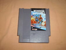 ( NES ) MISSION IMPOSSIBLE. KONAMI 1990. PAL A. ONLY CARTRIDGE.