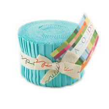 BELLA JUNIOR JELLY ROLLS by MODA - ROBIN'S EGG BLUE - 9900JJR85