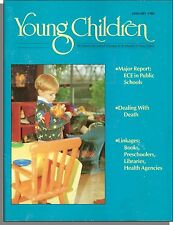 Young Children Magazine - 1989, January - Dealing With Death, Activity Boxes