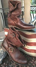 NEW/NIB Vintage Shoe/Sundance Catalog Veronica/Casey J Leather Boots 10 9.5 brwn