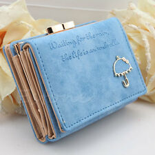 New Hot Fashion Women Leather Wallet Button Clutch Purse Lady Short Handbag Bag