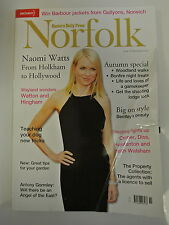 Eastern Daily Press Norfolk Magazine. Issue 163. November 2012. Naomi Watts Holk