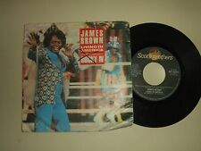 James Brown ‎/ Living In America–Disco Vinile 45 Giri Stampa Italia 1986