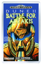 DUNE II BATTLE FOR ARRAKIS MEGA DRIVE FRIDGE MAGNET IMAN NEVERA