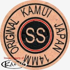 Kamui Original Brown Super Soft Pool Cue Tip 14mm Quantity 1 tip