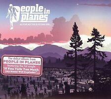 People In Planes CD As Far As the Eye Can See digipak