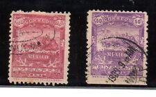 Mexico Valores del año 1898 (AY-870)