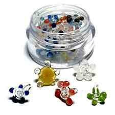 Glass Pipe Screens (Daisy Style) Quality Smoke Screen - 20+ pc w/ Mini Container