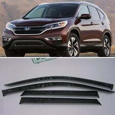 For Honda CRV CR-V 2012-2016 Window Visors Side Sun Rain Guard Vent Deflectors