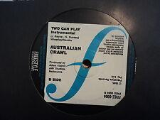 "Australian Crawl ""Two Can Play"" Rare Oz 7"