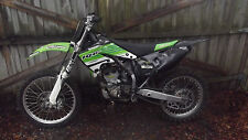 04 05 kawasaki kx 250f  Nstyle seat with front & rear fenders radeator shrouds