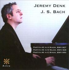 Bach: Partitas Nos. 3, 4, 6 (CD, Jan-2011, Azica Records)
