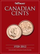 Canadian Cents 1920-2012 : Collector's Canadian Cents Folder by Warman's...