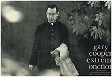 Coupure de presse Clipping 1961 (6 pages) Gary Cooper Extreme Onction