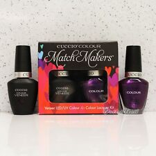 CUCCIO Veneer Match Makers - BROOKLYN NEVER SLEEPS 6035 Gel & Lacquer Duo Kit