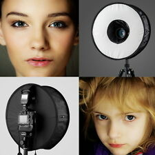 "18""/45cm Universal Foldable Ring Flash Softbox Macro Diffuser for Speedlite"