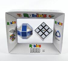 Rubik's Duo Luxury Cubes Set 3x3 & Twist Snake 100% Official Original New