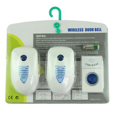 Wireless Digital Doorbell Voberry 2 Plug-In  with Battery &Retail Box Package UK