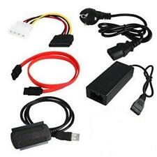SATA/PATA/IDE to USB 2.0 Adapter Converter Cable for 2.5/3.5 Inch Hard Drive AC