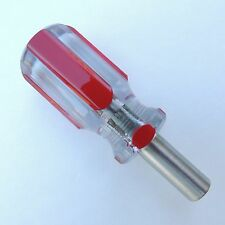 Magnetic Stubby Screwdriver 1/4 in Bit Holder Stainless steel Strong Magnet