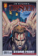 DRESDEN  FILES COMIC STORM FRONT NO.3 OF 4. JIM BUTCHER. BAGGED & BOARDED
