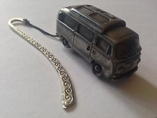 VW Type 2 Camper W/ Elevating Roof ref297 FULL CAR on Pattern bookmark W/ cord