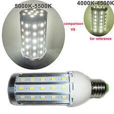E27 5730 SMD 60 LED Energiesparlampe Lampe Mit Licht Reinweiß 15W 5000K - 5500K