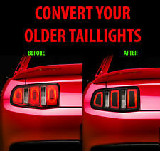 2010 2011 2012 Ford Mustang Tail Light Conversion Kit to 2013 - Vinyl Decal Wrap
