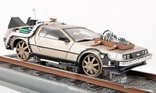 DeLorean dmc-12 time machine back to the future iii Railroad - 1:18 SUNSTAR