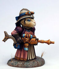 Visions in Fantasy FEMALE STEAMPUNK GUINEA PIG Dark Sword Miniatures DSM8003
