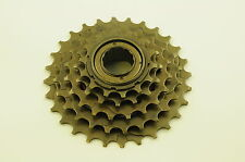5 SPEED INDEX 14/28 FREEWHEEL,SPROCKET,SCREW ON CASSETTE, 5,10 OR 15 SPEED MTB
