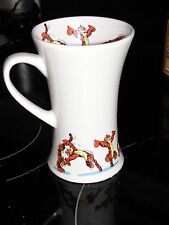 """Disney Store TIGGER Playing..Inside & out.. Large Coffee Mug / Tea Cup 6"""" Tall"""