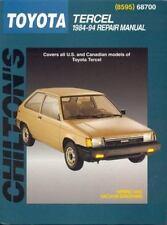 1984-1994 Chilton Toyota Tercel Repair Manual
