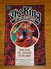 RING OF THE NIBELUNG BOOK 4 THE TWILIGHT OF THE GODS GRAPHIC NOVEL