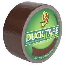 "Solid Brown ~ Duck Brand Duct Tape ~ Mud Puddle Color Series ~ 1.88"" x 20 yds"