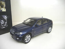 BMW X6 5,0i 2009 deap sea blue  Kyosho 1:18  SHIPPING FREE