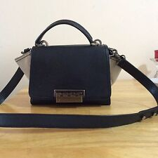 Ladies Zac Posen Bi-color Trapeze Shoulder Bag